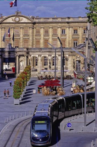 The high-tech Bordeaux tram